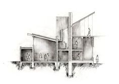 rendered section drawings - Google Search