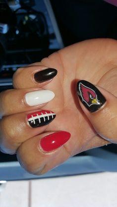 AZ Cardinals nails