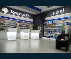 Líder en diseño y reforma de farmacias. Apotheka