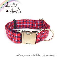 Compra nuestro original collar de clic Tartan y dale ese capricho a tu perro que tanto merece. Alta calidad de materiales y acabados.