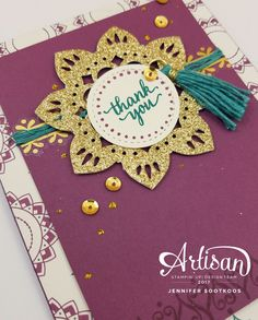 Hello! Welcome to the Stampin' Up! Artisan Blog hop. There are 20 of us from around the world so be sure to follow along to see everyone's p...