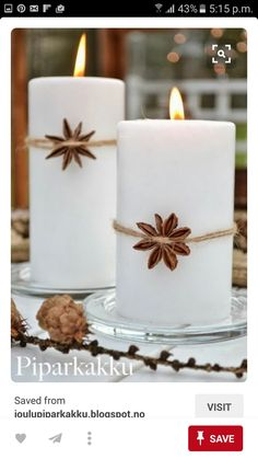 Creative and Inspiring Modern Christmas Candles Decorations .- Creative and Inspiring Modern Christmas Candles Decorations Ideas - Christmas Candle Decorations, Christmas Candles, Noel Christmas, Modern Christmas, Winter Christmas, Christmas Crafts, Christmas Ornaments, Simple Christmas, Beach Christmas