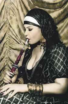 Youssef Nabil - Fifi Abdou 2000  http://pinterest.com/rachelthebrice/