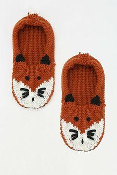 Fox Slipper Socks @Brittany Horton ruth