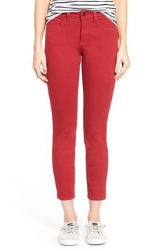 NYDJ 'Clarissa' Colored Stretch Skinny Ankle Jeans (Regular & Petite) available at #Nordstrom