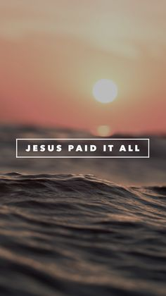 All to Him I owe.