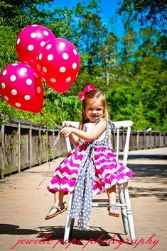 So sweet on her 3rd birthday photo shoot!