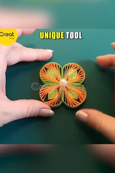 Quilling Winder Grid Board - Knitting for Beginners Paper Quilling Flowers, Paper Quilling Tutorial, Paper Quilling Patterns, Paper Quilling Jewelry, Origami And Quilling, Quilled Paper Art, Quilling Paper Craft, Paper Crafts Origami, Quilling Videos
