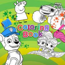 Preschoolers can choose coloring pages from their favorite Nick Jr. shows to create custom works of art. Color, print, and share with friends and family!