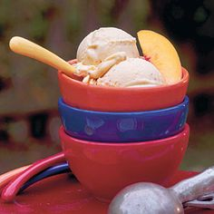 25 Best Homemade Ice-Cream Recipes | Peach-Cinnamon Ice Cream | SouthernLiving.com