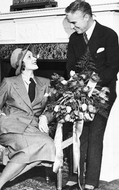 """mariondavies: """" Marlene Dietrich and Charlie Chaplin, 1931 """" Charlie Chaplin meets up with Marlene Dietrich again, Hotel Adlon, Berlin, Germany - 1931. They first met when she came to the set of """"City Lights"""" in 1929."""