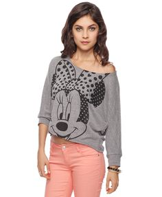 Minnie Mouse Hearts Top