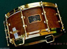 Tama Pro Custom 6 5x14 Antique Satin Be Gold Hdwre Gorgeous Drum PAT30 | eBay