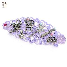 Sleeping Beauty Hair Clip Princess Steampunk Barrette - Bridal fashion accessories (*Amazon Partner-Link)