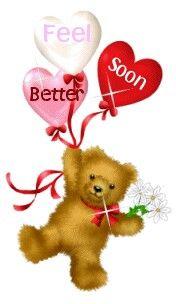 Feel better soon teddy bear