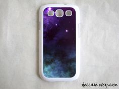 SAMSUNG GALAXY S3 Case NEBULA iPhone 5 case iPhone 4 case,iPhone 4S case,iPhone caseHard Plastic Case Rubber Case. $16.00, via Etsy.