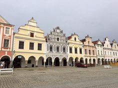 **Historic Centre of Telc - Czech Republic Online Tickets, Czech Republic, Trip Advisor, Centre, Louvre, Mansions, House Styles, Building, Photos