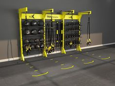 Design | Gym Rax & TRX - Storage and Suspension Training