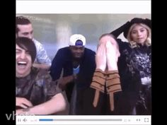 I love how they're all laughing and then they stop bur Mitch can't stop laughing. I'm that friend! Love PTX for life! ~JustBrooke101~