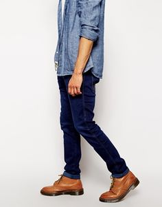 Today you can pick up mens denim anywhere. Not all denim is equal though!   Invest in a dearer pair of quality jeans and wear them out for nicer casual occasions. Not only will a pair of wranglers for instance last longer but the cut Will be nicer and fade less.