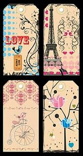 etichette Parigi e altro