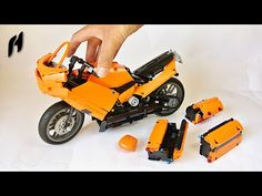 How to Build the Sport Touring Motorcycle (MOC)