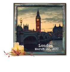 """Thinking of London"" by dorofromks ❤ liked on Polyvore featuring art"