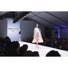 First night down! Three more to go! Come see #fashionxt2015 ! Thanks to @fashionxtonline for the image!