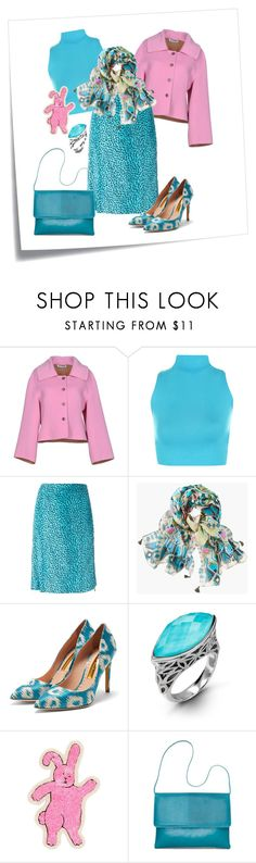 """""""Spring Ikat Styling"""" by metter1 ❤ liked on Polyvore featuring Post-It, Jil Sander, WearAll, Versace, Chico's, Rupert Sanderson, Hera, Olympia Le-Tan and ikat"""