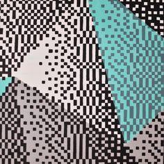 https://flic.kr/p/GFcpFB | Triangolazioni  Acrilici su tela, 30x90cm