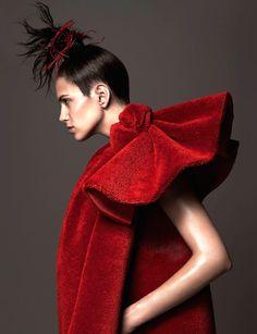 Amanda Wellsh by Ishi for Vogue Nederland December 2014