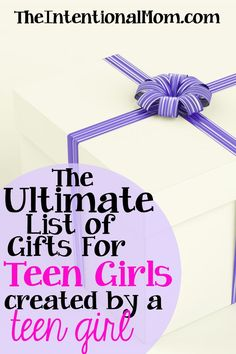 Do you have a teen girl to buy for this Christmas? I've got the ultimate list of gifts for teen girls. Under $10 and over $30 there's something for everyone