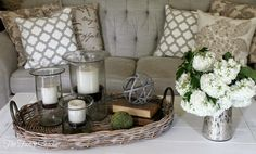 The Fancy Shack: New Living Room Furniture-- Part One