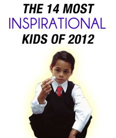 These kids did some incredible things this year. Discover their stories.