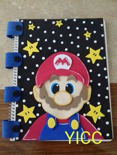 How to decorate a notebook with foam for a girlHow to decorate a notebook with foam for a girlHow to decorate a notebook with foam for menHow to decorate a notebook with foam for menHow Foam Crafts, Diy And Crafts, Arts And Crafts, Diy Notebook, Decorate Notebook, Altered Composition Books, Cool Notebooks, Cute School Supplies, Mario Party