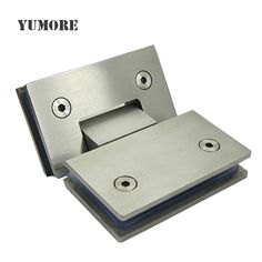 High quality wholesale Interior door hinges stainless steel glass panel clamp from Chinese supplier Yumore.