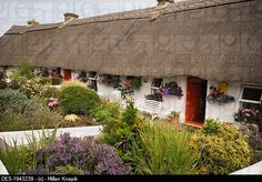 thatched cottage in adare county limerick emerald isle ireland