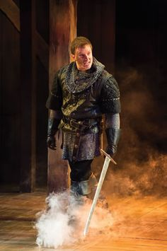 Steve Wojtas as Hotspur in the Utah Shakespeare Festival's 2014 production of Henry IV Part One. (Photo by Karl Hugh. Copyright Utah Shakespeare Festival 2014.)