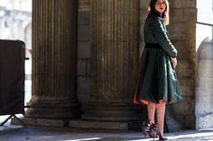 Natasha Goldenberg en Dior prefall 2014