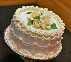 Pretty Cakes, Beautiful Cakes, Amazing Cakes, Buttercream Birthday Cake, Cake Icing, Cupcakes, Cupcake Cakes, Cake Decorating Techniques, Cake Decorating Tips
