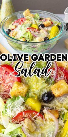 Best Salad Recipes, Salad Dressing Recipes, New Recipes, Vegetarian Recipes, Cooking Recipes, Healthy Recipes, Dinner Recipes, Dinner Ideas, Olive Dressing Recipe