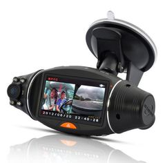 "Excelent R310 Dual Lens Car DVR Camera Video Recorder 2.7"" TFT Full HD 1080P Car DVR Camera G-sensor GPS Logger Night Vision"