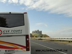 Nothing beats CIE Tours in Ireland or the UK! Here's a shot from the road. #CIETours