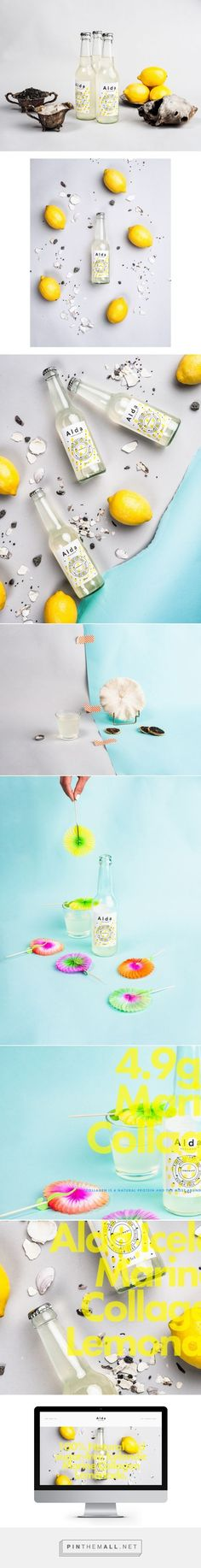Alda Iceland Lemonade Packaging by Milja Emilia | Fivestar Branding Agency – Design and Branding Agency & Curated Inspiration Gallery