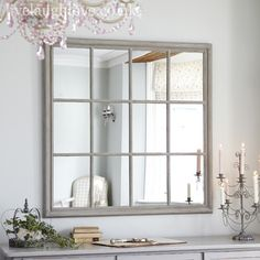 Stunning Ideas: Shabby Chic Mirror Painted Furniture shabby chic office she sheds. Shabby Chic Living Room, Trendy Bathroom, Shabby Chic Mirror, Window Mirror, Shabby Chic Bathroom, Chic Bathrooms, Living Room Mirrors, Kitchen Mirror, Chic Bedroom