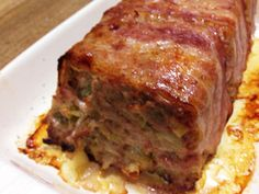 カリカリベーコンが美味!なミートローフ by サンシャインいつき [クックパッド] 簡単おいしいみんなのレシピが240万品