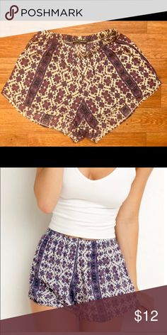 Brandy Melville shorts, size small Brandy shorts-size small, fits 0-2, just want them out of my closet! Make an offer :) Brandy Melville Shorts
