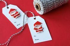Creative Ideas - DIY Cute Origami Santa | iCreativeIdeas.com Follow Us on Facebook --> https://www.facebook.com/iCreativeIdeas