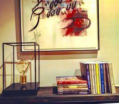Lámpara de diseño Praga, realizada en hierro 100% handmade. Diseño muy actual, nuestro cliente ya disfruta de ella en su hogar