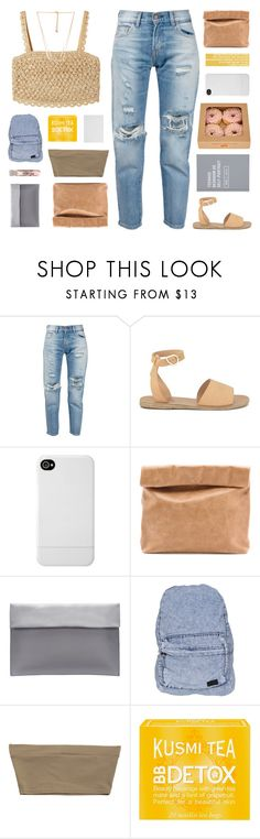 """penelope ♡"" by frostedfingertips ❤ liked on Polyvore featuring Dolce&Gabbana, Levi's, Ancient Greek Sandals, Incase, Marie Turnor, Stussy, Kusmi Tea, Forever 21, haileelook and clarelook"